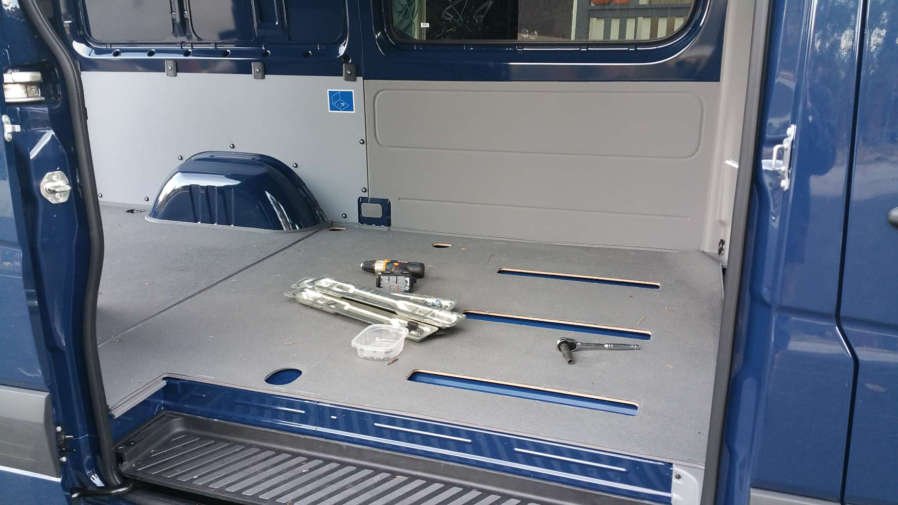 Converting A Sprinter Van To A Camper Moving The Back Seat