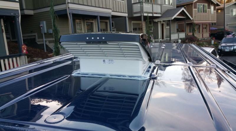 Converting A Sprinter Van To A Camper Installing A Fan Vent