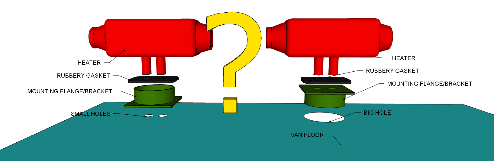 Converting A Sprinter Van To Camper Installing Diesel Driven Espar D2 Heater Wiring Diagram
