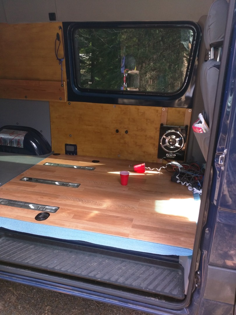 Converting A Sprinter Van To A Camper Installing