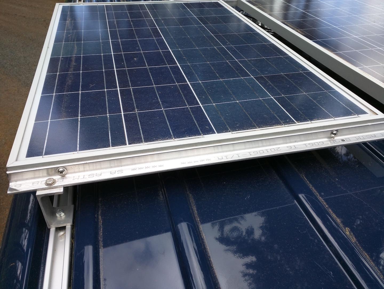 Converting A Sprinter Van To A Camper Installing Solar