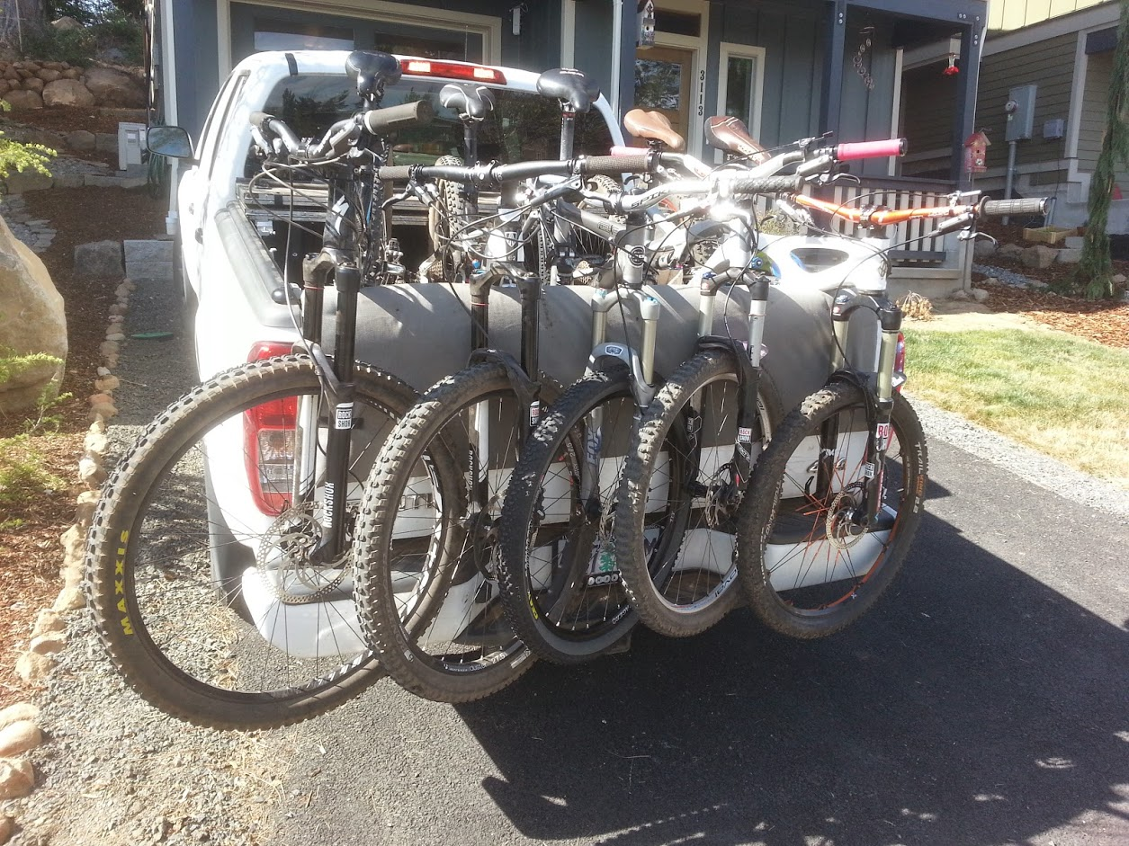 The Perfect Bike Rack Setup Points Unknown