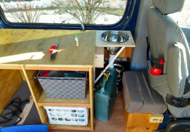 Sprinter Adventure Van Build – Kitchen