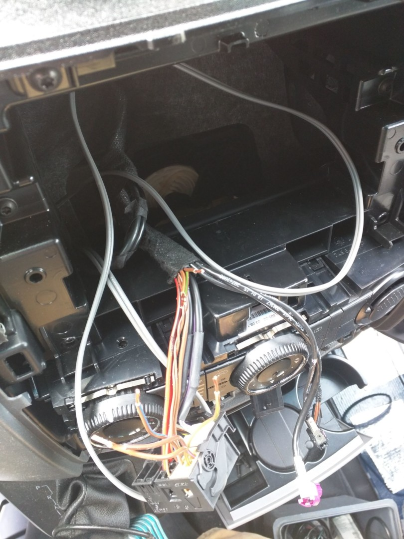 Sprinter Stock Stereo Upgrade And Speaker Replacement Points Unknown Boss Car Harness Wiring Key Grd Pull The Head Unit Out You Can Disconnect It From Its Various Connectors Big Black One Is Want Peal Back Tape Holding Wires