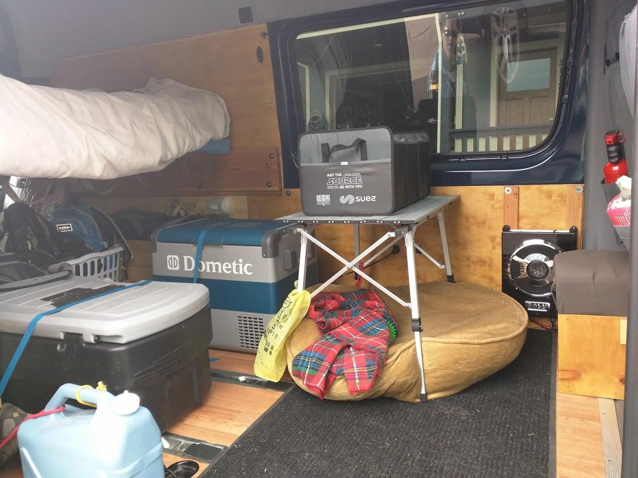 Sprinter Adventure Van Build Accessories Points Unknown