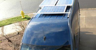 Sprinter Camper Van Accessories Wiring and Solar | Points Unknown