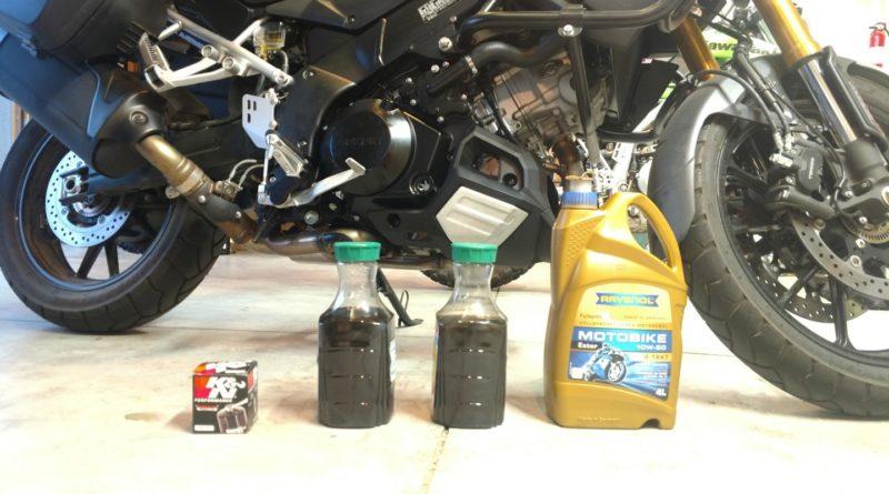 Suzuki Vstrom Oil Change   Points Unknown