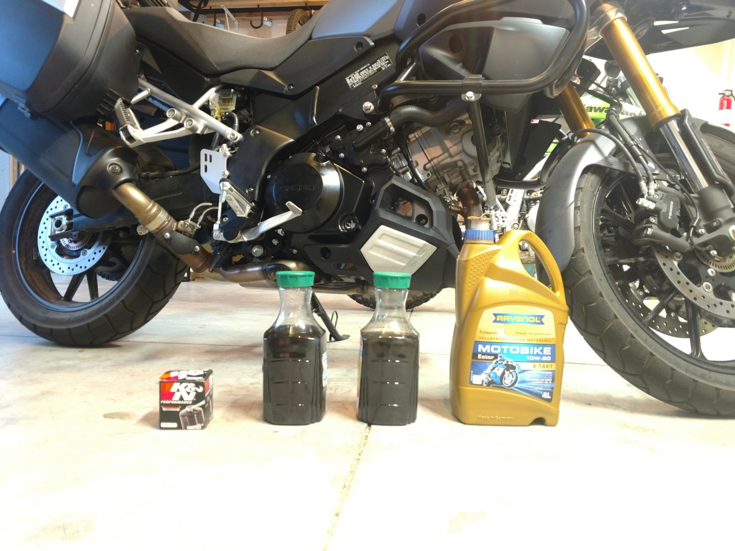 Nuts And Bolts Near Me >> 2016 Suzuki V-Strom DL1000 - First Oil Change, Filter Replacement, and Maintenance Guide ...