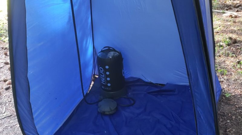 Best Camping Shower Setup | Points Unknown